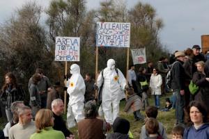 Manifestation du 26 février 2011 à Villeneuve-de-Berg.