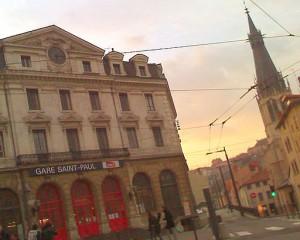 La gare Saint-Paul à Lyon