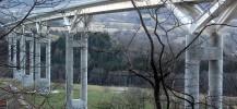 Le viaduc de Monestier-de-Clermont sur l'A51.
