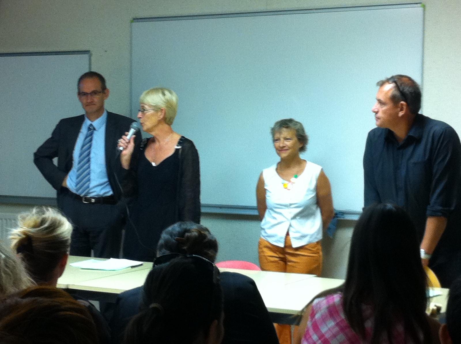 Rentrée : les élus EELV dans les lycées et les CFA   Les élus du ...