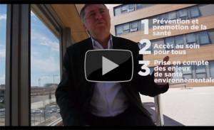 Alain Chabrolle présente la politique de santé régionale